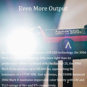 Image 2 - Aputure LS C300d II 300d II LED Video Light COB Light 5500K Daylight with Bowens Mount Outdoor Studio Light Photography Lighting