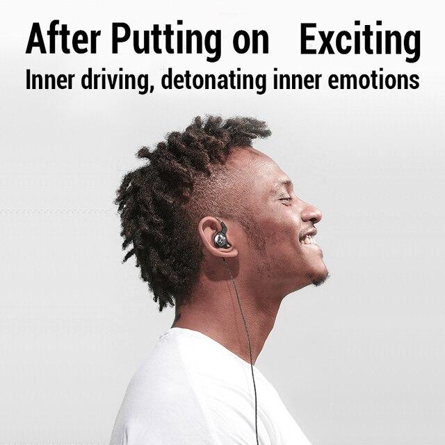 Sport Wired Headphones Running Earphone Computer Earphones Gamer Headset Handsfree Earbuds for Redmi Umidigi F2 MP3 audifonos 3