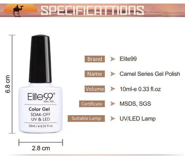 Elite99 10ML Malerei Gel Lack Farbe Gel Nagellack Für Maniküre DIY Top Basis Mantel Hybird Design Von Nagel kunst Primer UV Gel