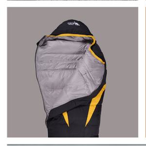 Image 5 - Ultralight Down Sport Sleeping Bags Outdoor Camping Hiking Traveling Duck Down Adult Mummy Waterproof  Winter Sleeping Bags