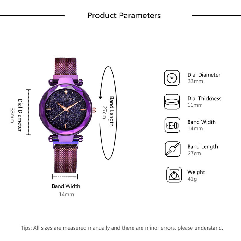 Luxury  Magnetic  Women Watches  1