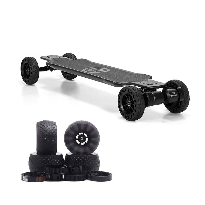 """Ownboard  Electric Skateboard Carbon AT 3000W 40"""" All Terrain With Dual Belt Motor 14AH Battery Carbon Fibre Best Powerful Skate"""