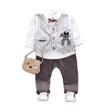 Весенне Осенняя детская хлопковая одежда; Футболки с бантом