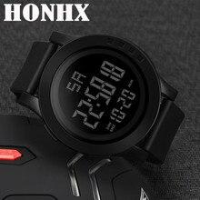 Luxury Men Analog Digital Military Sport Watch LED Waterproof