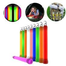 1 шт аварийный сигнал для выживания светящиеся палочки праздничные вечерние украшения сувениры Rave кемпинг инструменты случайный цвет