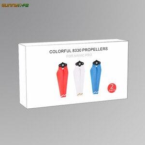 Image 5 - Pour DJI Mavic Pro accessoires 8330F libération rapide hélice pliable accessoires colorés lames pliantes 8.3 pouces pour DJI Mavic