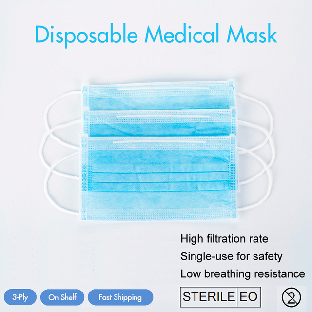 Anti-dust Anti-flu Anti-virus Face Mask Medical Use Fast Shipping In Stock Mask