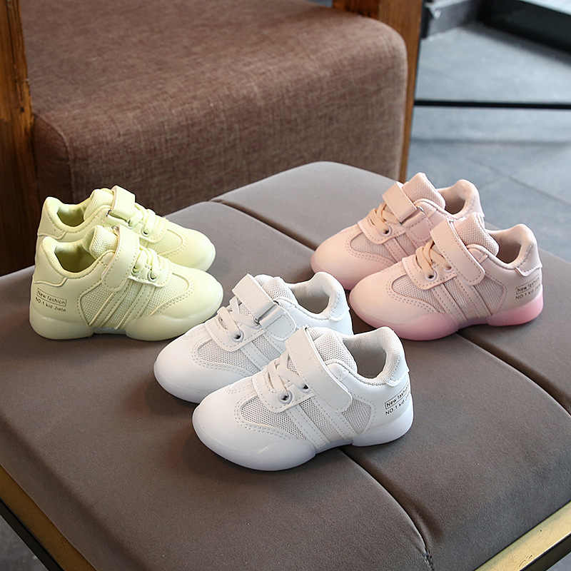 86ca989d0078a Candy color Fashion children sneakers simple sports kids shoes cool ...