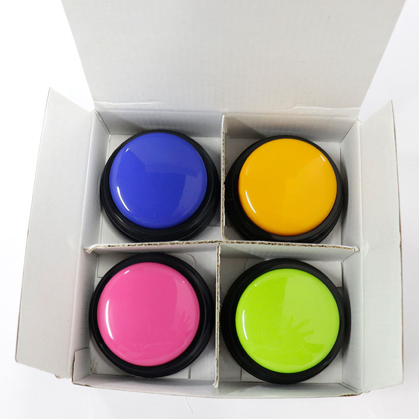 16Pcs (4Sets) Talking Voice Recording Buttons For Toys With Free Shipping