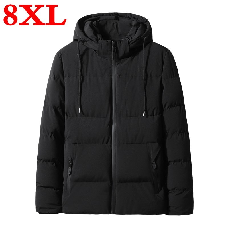 Plus Size  8XL 7XL 6XL Mens Winter Warm Thicken Jackets & Coats Cotton Coat Comfortable And Warm Style Jackets