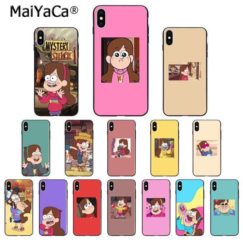 Maiyaca Gravity Falls Cute Girl Mabel Pines Tpu Soft Phone Case For Apple Iphone 8 7 6 6s Plus X Xs Max 5 5s Se Xr Mobile Cover