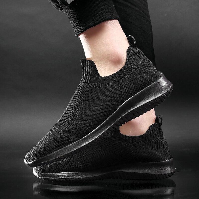 WDHKUN/летние модные мужские кроссовки; дышащая мужская модная обувь; слипоны; кроссовки для мужчин; дешевые мужские лоферы; обувь без шнурков Повседневная обувь      АлиЭкспресс