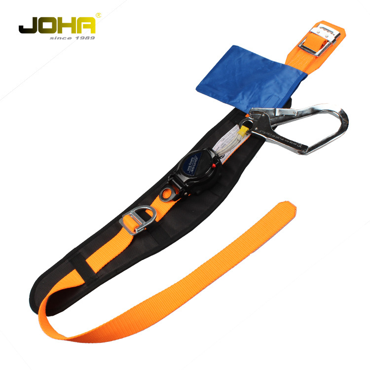 Giant Ring Single Waist Speed Difference-Safety Belt High Altitude Homework Safety Belt Outdoor Construction Downhill Half-lengt