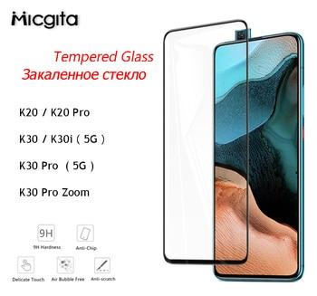 Перейти на Алиэкспресс и купить Полное закаленное стекло для Xiaomi Redmi K30 Pro Zoom K20 K30i Защита экрана на Redmi K 30 Speed / Racing Edition 5G стекло