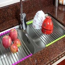 Folding stainless steel kitchen…