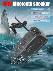 XDOBO Bluetooth Soundbar Subwoofer Deep-Bass Waterproof Wireless Speaker Type-C IPX7