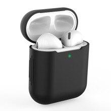 7 шт./компл. силиконовые беспроводная связь Bluetooth чехол для наушников Airpods 1 2 СПЦ Яблоко вкладыши наушники аксессуары защитная крышка
