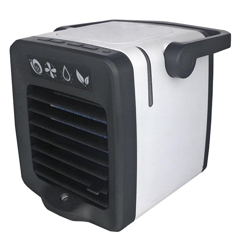 Usb Mini climatiseur Portable arctique refroidisseur d'air humidificateur purificateur lumière LED espace personnel ventilateur ventilateur de refroidissement