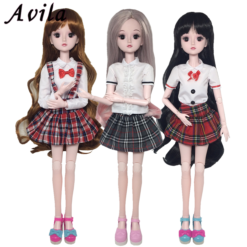 60cm Doll <font><b>Clothes</b></font> Blazer Girl Dress Fashion Casual Pants For Doll Accessories Handmand <font><b>Clothes</b></font> For <font><b>Bjd</b></font> <font><b>Sd</b></font> Dolls Toy image