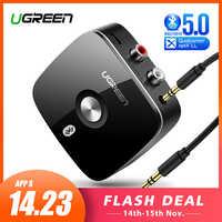Ugreen Bluetooth RCA Empfänger 5,0 aptX LL 3,5mm Jack Aux Wireless Adapter Musik für TV Auto RCA Bluetooth 5,0 3,5 Audio Empfänger