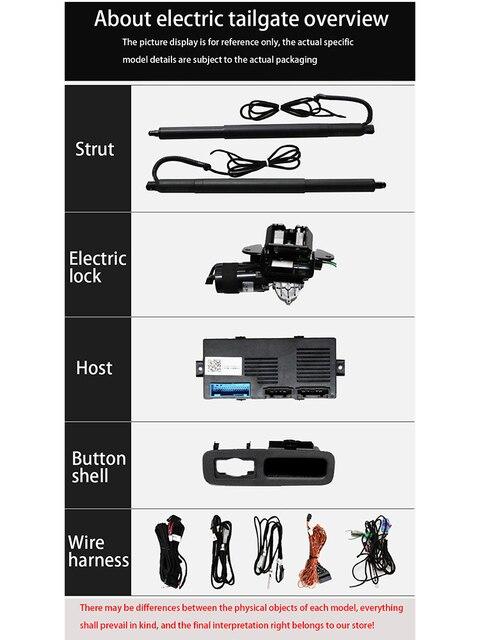 Купить zjcgo автомобильная электрическая система помощи на заднюю дверь картинки цена