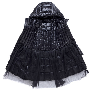 Image 4 - חם אופנה של הילדה למטה מעילים ארוך דגם ילדי אמיתי למטה מעיילי מעיל ילדי נער עבה למטה הלבשה עליונה עבור קר חורף