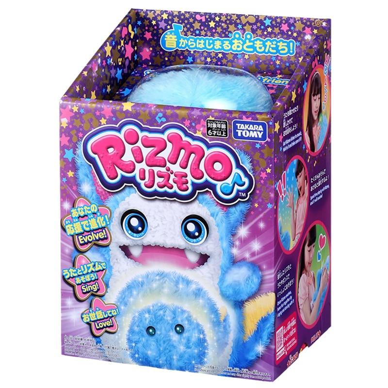 Takara tomy tomica rizmo knuffels hot pop baby speelgoed grappig magic kids pop fluwelen puppets shu katoen snuisterij - 2