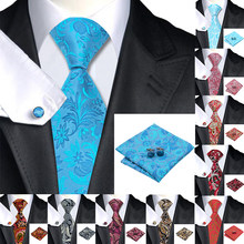 Hi-Tie 100% Zijde mannen Stropdas Wit Dot Ties voor Mannen Luxe Zijden Zakdoek Fashion Designer Business Bruiloft heren Stropdas(China)