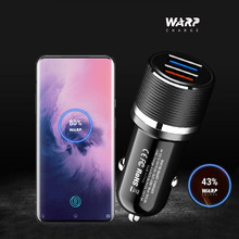 OnePlus 8 Pro Warp Car Charger Original OnePlus Cable For One Plus 8 7T 6T 5T 1+5 1+3T Dash QC3.0 2.0 SFCP VOOC 4.0 Fast Charger