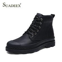 SUADEEX Mens Shoes Tactical Military Boots Outdoor Working Waterproof Combat Desert Female Motorcycle Footwears