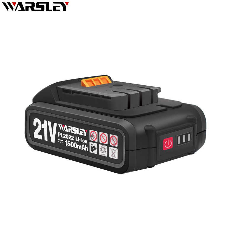 21V Lithium Battery Screwdriver Electric Drill Battery Cordless Screwdriver Charger Battery For Power Tools