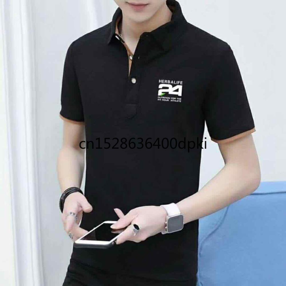 2020 HERBALIFE Clothing Advertising Culture POLO Shirt Short-sleeved Cotton Workwear Clothing 24