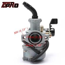 TDPRO 22mm PZ22 4 Stroke 110cc 125cc Pit Dirt Bike Motorcycle Racing Engine Carburetor Carby ATV CRF SSR SunL Taotao Coolster