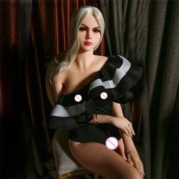 165cm Top Quality Life Size Silicone Sex Doll with Skeleton for Men, Vagina Big Breast Anal Adult Sex Dolls