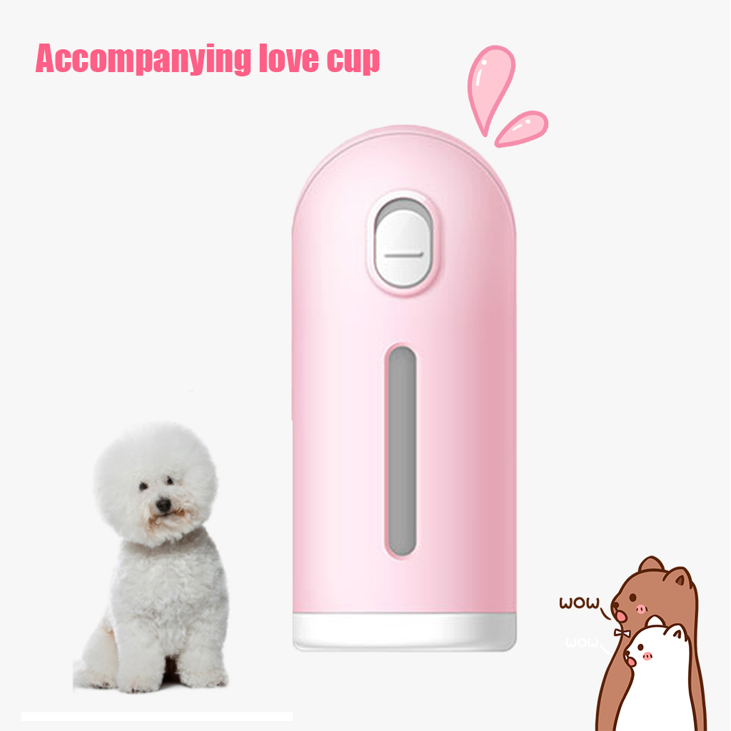 300ml Mini Portable Pet Travel Water Bottle Water Bowl Puppy Cat Drinking Cup Outdoor Water Dispenser Water Feeder Dog Supplies