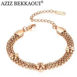 AZIZ BEKKAOUI Fashion Name Bracelet Men