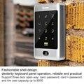 RFID водонепроницаемый контроль доступа с металлической клавиатурой 125 кГц кард-ридер 8000 пользователей для блокировки офисной системы безоп...