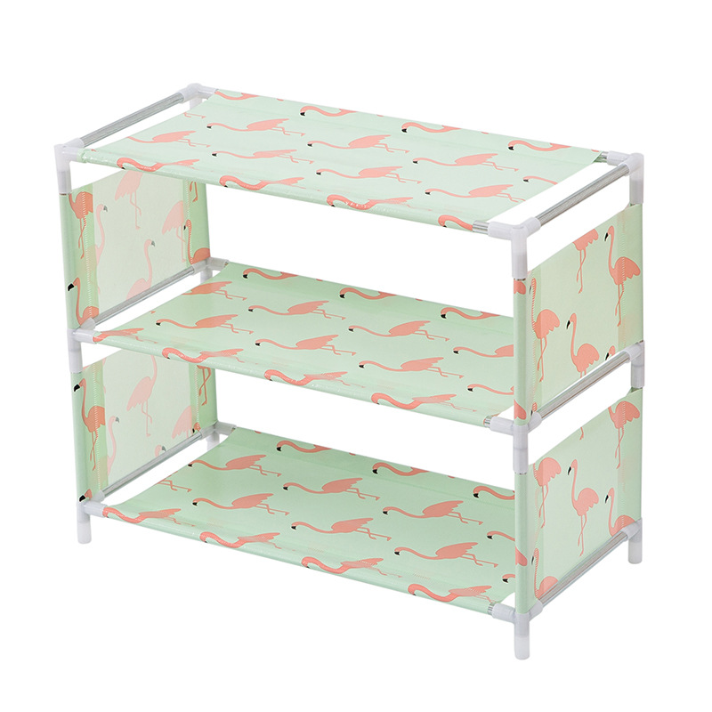 Simple Dust-proof Assembly Fabric Shoe Rack Multi-layer Shoes Cabinet Dormitory Dormitory Multifunctional Small Shoe Rack