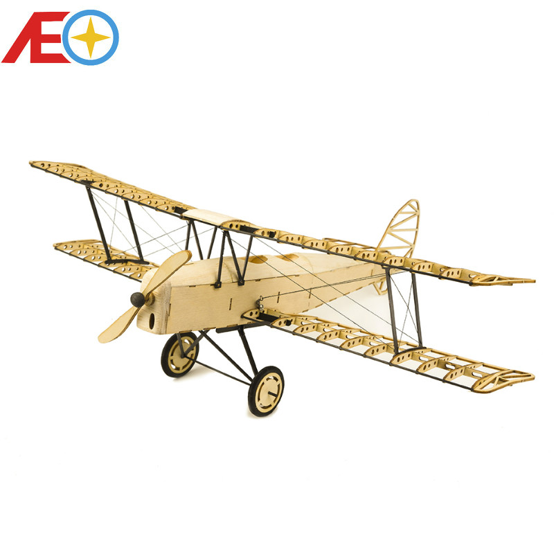 DIY Craft Wood Building Kit Building Toys Christmas Gift Present 1 18 X10 De Havilland Tiger Moth Static Models in RC Airplanes from Toys Hobbies