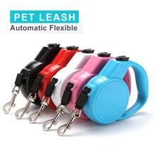 Портативный мини поводок для собак многоцветный пластиковый