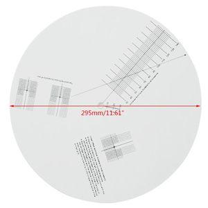 Image 3 - Anti Sliding Lp Vinyl Record Pickup Kalibratie Plaat Afstand Gauge Gradenboog Aanpassing Tool Heerser Voor Draaitafel Accessoires