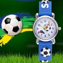 Casual Kids Watches Fashion Cartoon Children Sports Silicone Qaurtz Watch  horloge jongens kind