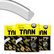 2 peças taan t9 controle corda de tênis