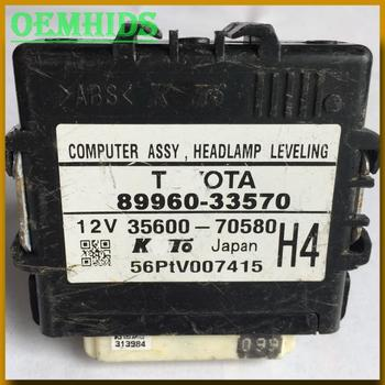 89960-33570 Used original Ballast for headlight Computer Assy Headlamp Leveling control unit 35600-70580