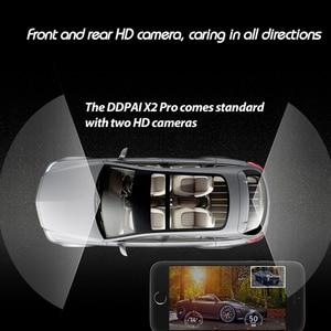 Image 4 - Originale DDPai X2S Pro Dash Cam DVR 1440P HD 24 ORE di Parcheggio Monitoraggio Master Built in GPS n G Sensore Sony MIX Anteriore Posteriore di Registrazione
