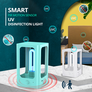 Image 5 - UV Light Sterilizer Smart Sensor Ultraviolet Sterilizer USB Ultraviolet  Disinfection Light Quartz Lamp LED UVC Germicidal Lamp
