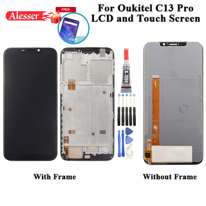 Image 1 - Alesser For Oukitel C13 Pro LCD Display And Touch Screen Digitizer Assembly Repair Parts+Film+Tools+Adhesive For Oukitel C13 Pro