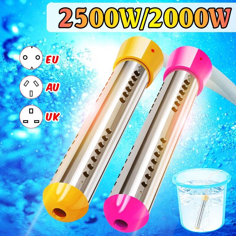 2000W Floating Electric Heater Boiler Water Heating Element Portable Immersion Suspension Bathroom Swimming Pool AU/EU/UK Plug