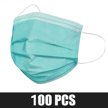 Disposable Surgical Mask  Earloop Pink Bule Black White Mouth Mask  3 Layers Meltblown Non-Woven Breathable Medical Face  Mask 26