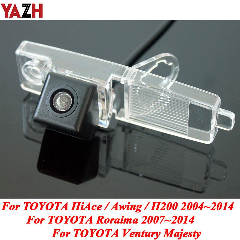 YAZH For TOYOTA Ventury HiAce Roraima 2004~2014 HD CCD Night Vision Rear View Camera Reversing Camera Car Back up Camera image